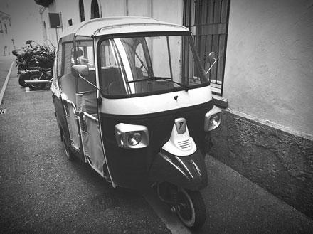 Marca de coches Piaggio
