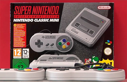 Nintendo Classic Mini - Super Nintendo Entertainment System
