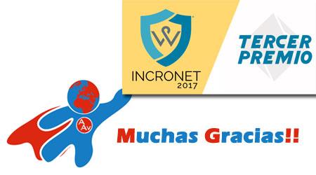 Alumno Aventajado Galardonado en el Concurso INCRONET 2017
