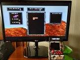 Tetris en la New Street Fighter Home Arcade.
