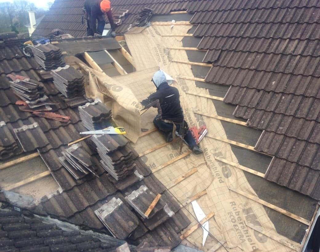Roof Tiling Castle Troy Limerick