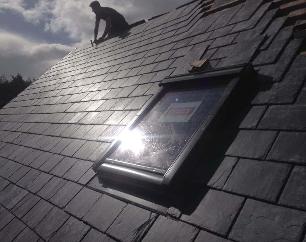 Finished Roof Tiling