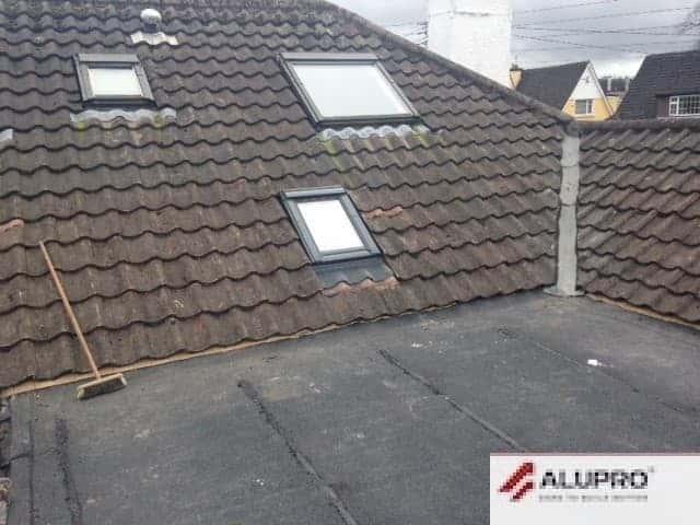 Velux Window on Extension Repair Cork