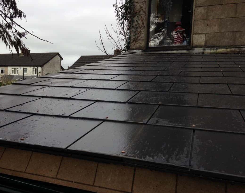 Finished Roofing Slate Limerick
