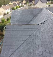 Finishing Slate Roofs Cork