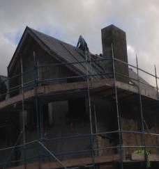 Starting Slating Roof