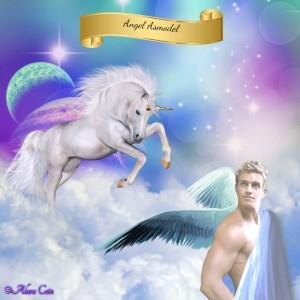 Asmodel and unicorn