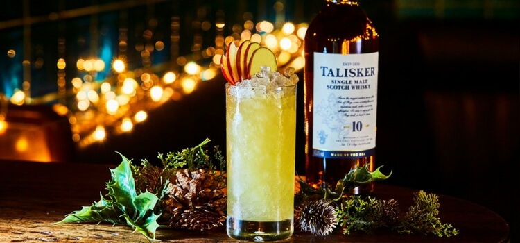 Spiced Apple Highball by Andrew Lennie, Race To Skye competition winner