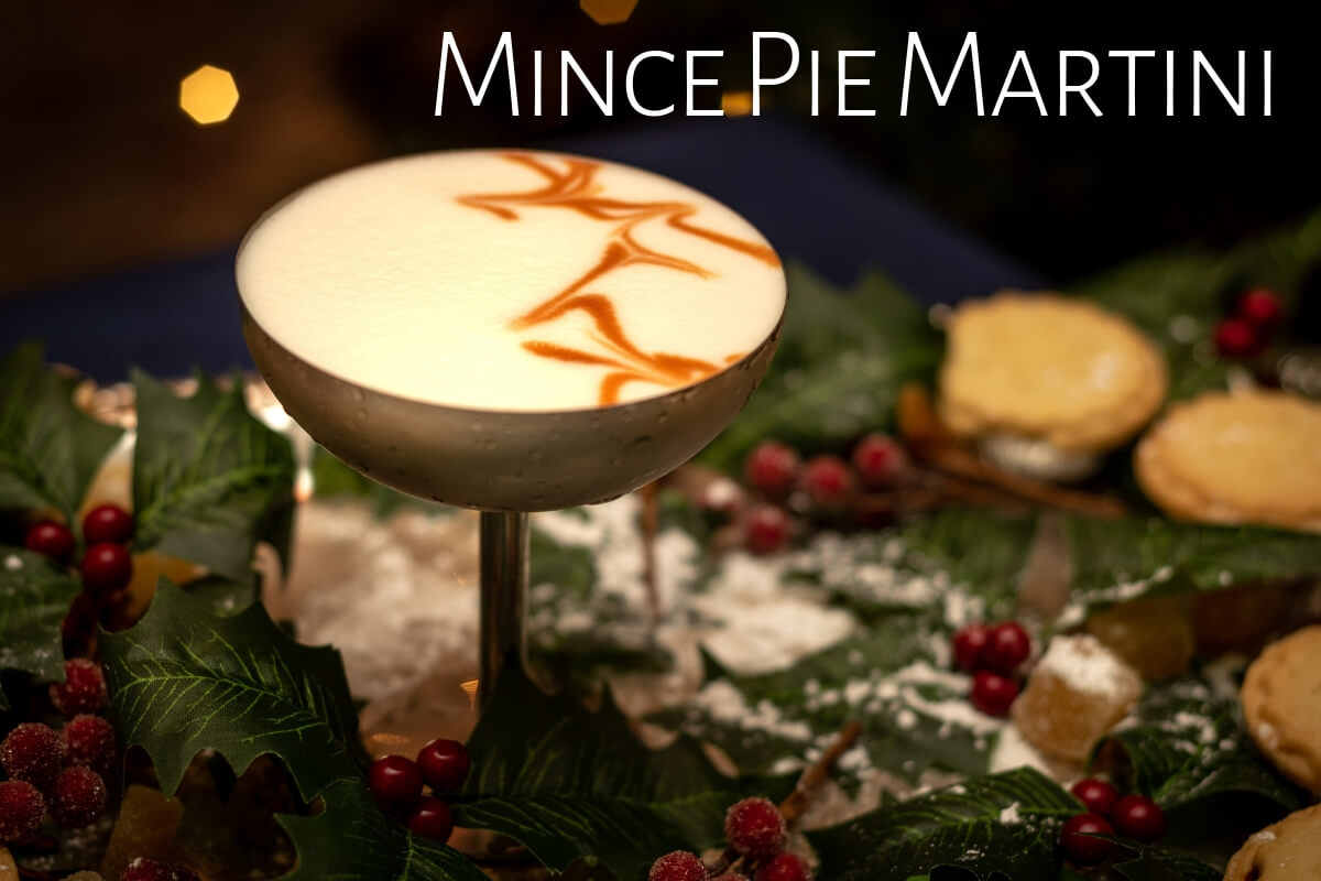 Mince Pie Martini, The Blue Door, London