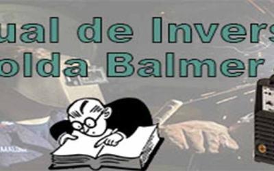 Manuais de inversor de solda Balmer