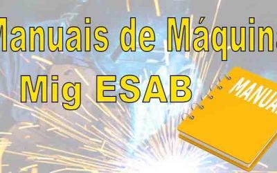 Manuais de máquinas Mig Esab