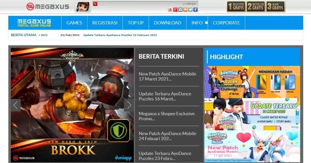 Download game pc gratis Megaxus 1024x538 - 15 Situs Download Game PC Gratis dan Terbaik