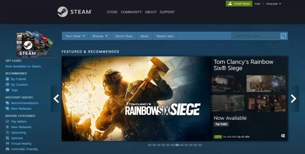 download game gratis dari steam 1024x518 - 15 Situs Download Game PC Gratis dan Terbaik