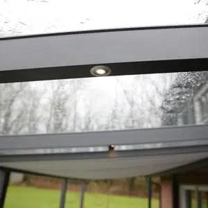 LED Lichter für die Überdachung