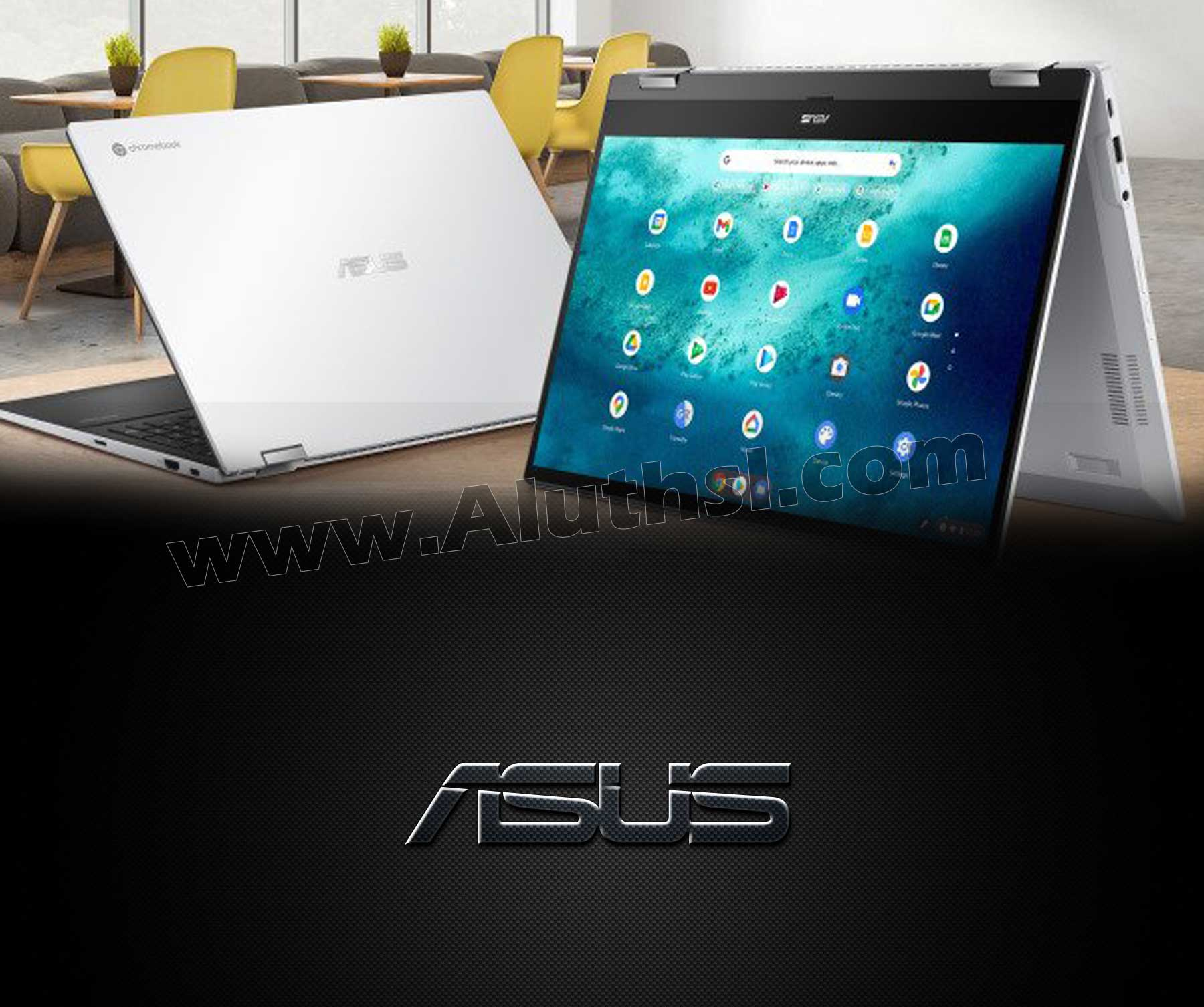 ලොව විශාලතම Chromebook එක Asus සමාගමෙන්