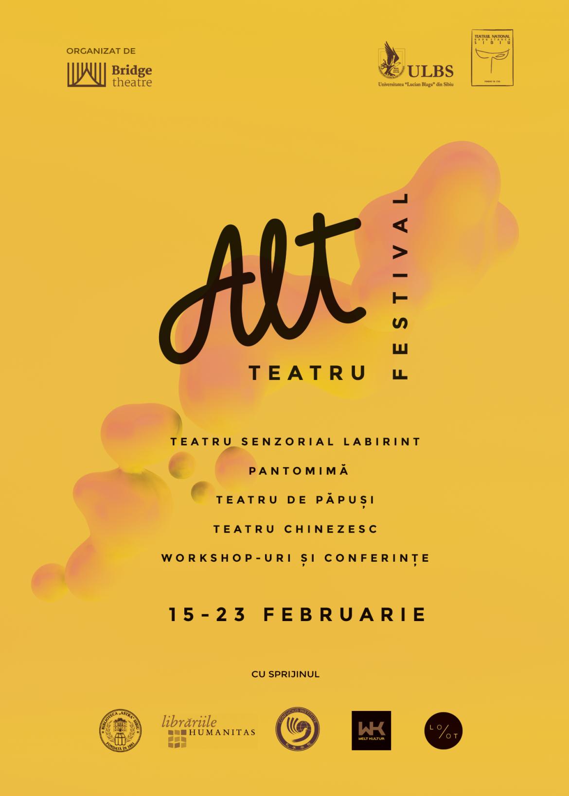 Festivalul ALT TEATRU în Sibiu