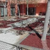 Patio del Centro de la tercera edad Casimiro Arenas Molina