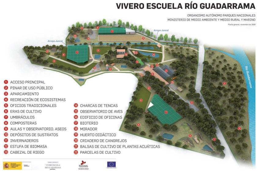 Vivero Escuela Rio Guadarrama