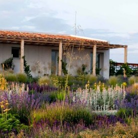 Jardín rural mediterráneo