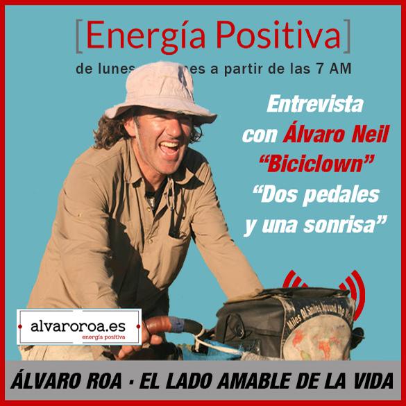 """239. Entrevista a Álvaro Neil - Biciclown """"Dos pedales y una sonrisa"""""""