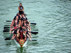 Commonwealth Championships of Dragon Boat Racing Penang, Malaysia EDBRC Premire Mixed 2010