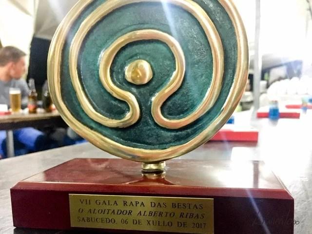 Premio a Alberto Ribas