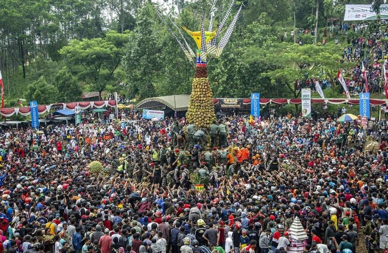 Festival Durian Wonosalam di Kabupaten Jombang