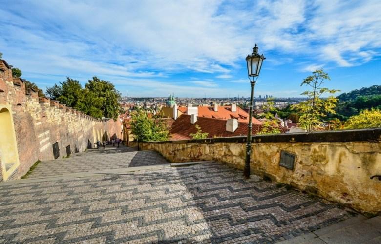 Petrin Hill Prague Praha Republik Ceko