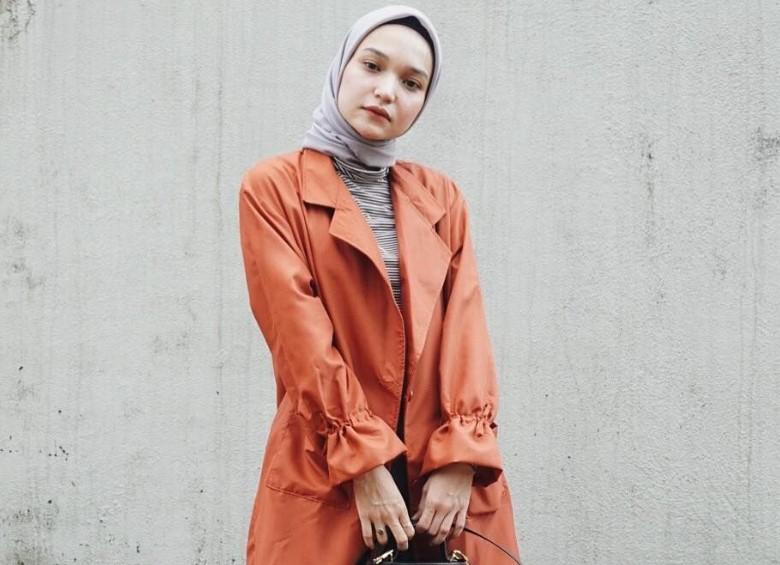 Gaya Hijab Wajah Bulat Agar Tampak Awet Muda