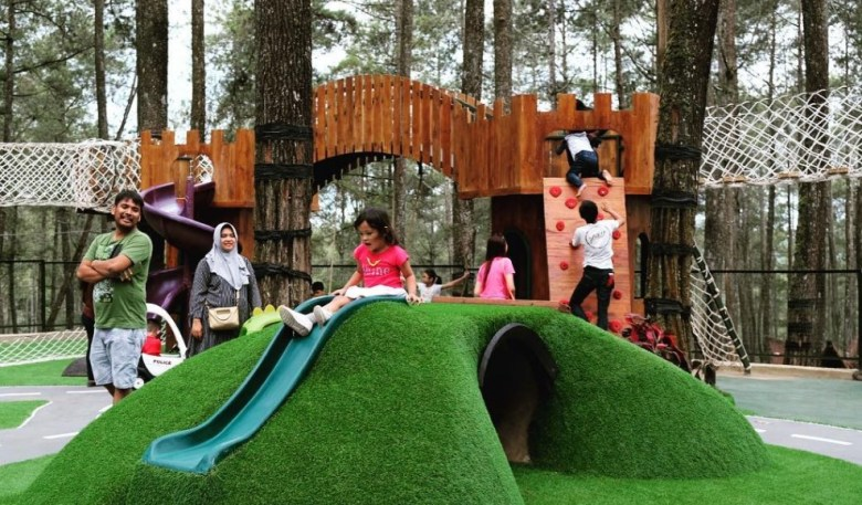 Area Outbound Gathering Orchid Forest Cikole Lembang