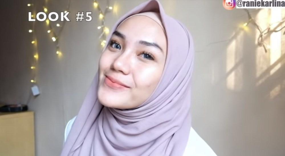 Cara Memakai Jilbab Segi Empat Modis, Sederhana dan Cantik SELESAI