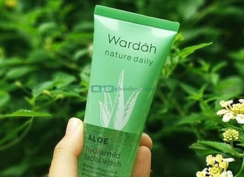 Kemasan atau Packaging Wardah Aloe Vera Baru
