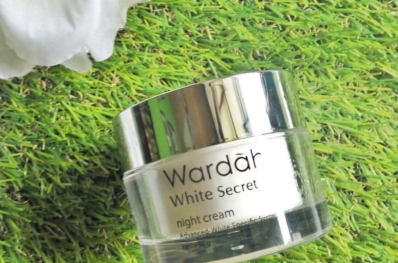 Review Wardah White Secret Night Cream