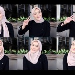 Tutorial Hijab Segi Empat Simple dan Modis Tumbnail