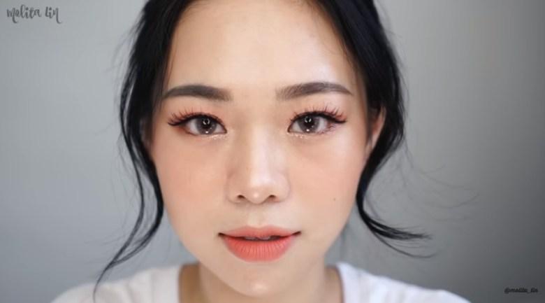 Tutorial Makeup Korea Peachy Look Final