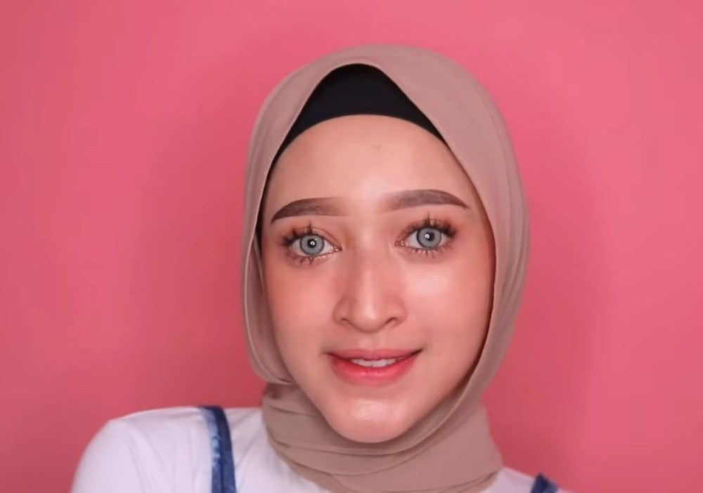 Tutorial Hijab Pashmina untuk Remaja Simple dan Mudah SELESAI
