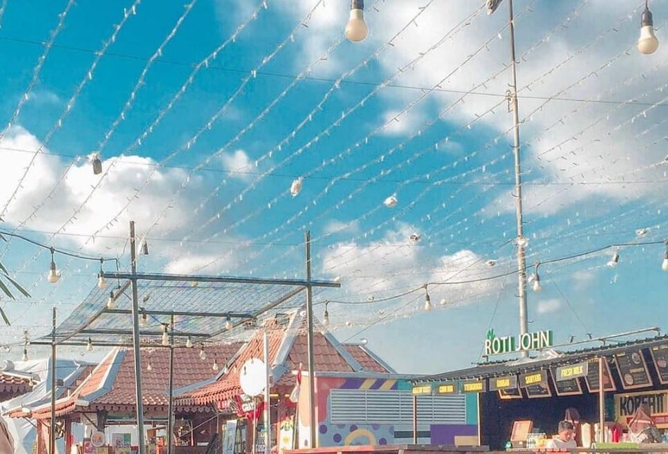 Spot Foto Unik di Seven Sky Jogja
