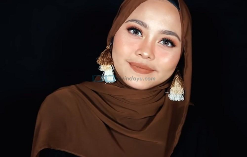 Tutorial Hijab Pashmina Diamond Pesta SELESAI