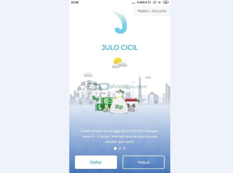 Daftar Aplikasi Julo