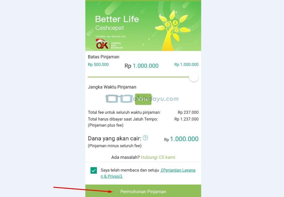 10 Daftar Aplikasi Pinjam Uang Online Terdaftar Ojk Syarat Dan Cara Pengajuannya Dyah Ayu Alvinda