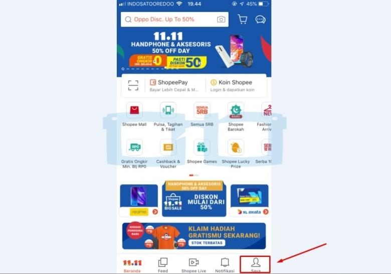 Cara Daftar Shopee Buka Aplikasi Shopee
