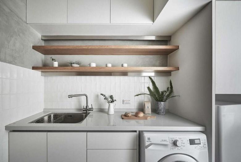 Furniture Dapur Minimalis Ruang Sempit