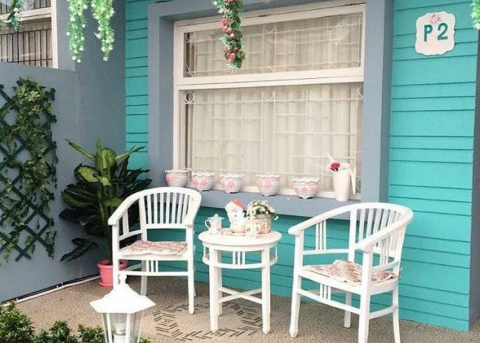 Gambar Furniture Teras Rumah Minimalis Model Vintage
