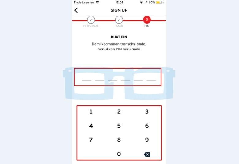 Buat PIN Akun Link Aja New
