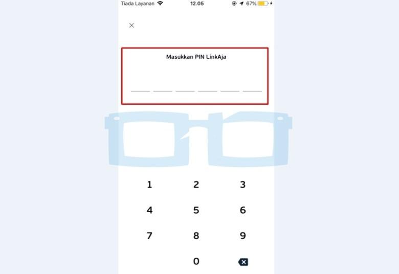 Masukkan PIN Link Aja untuk Verifikasi Email New