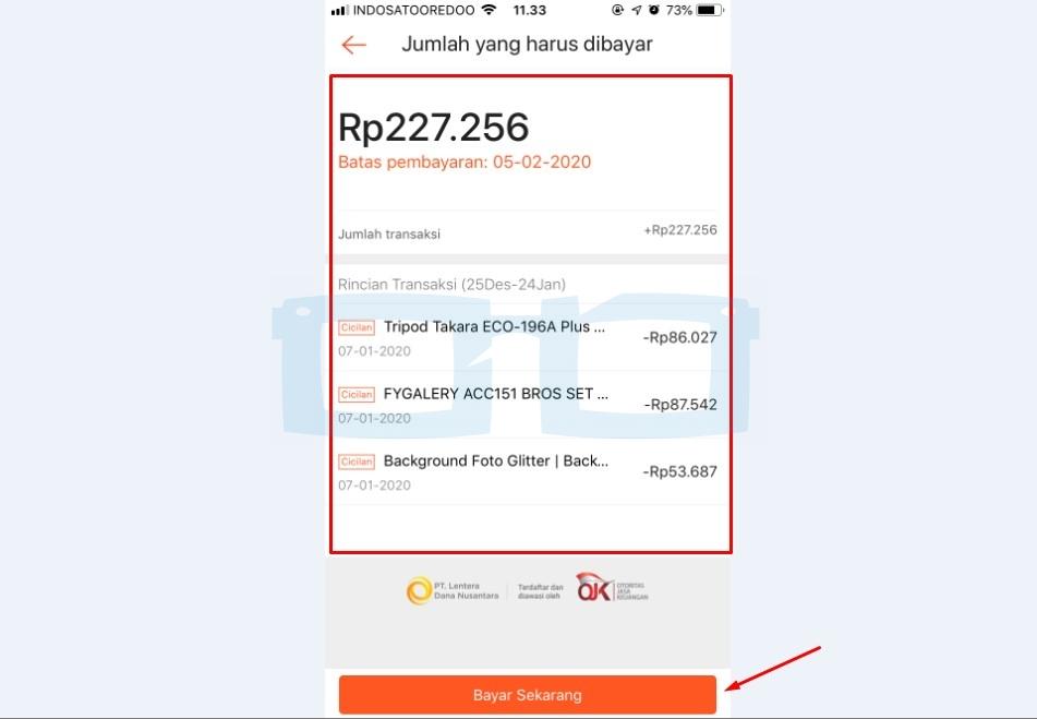 Bayar Sekarang Tagihan Shopee Paylater Lewat Transfer Bank