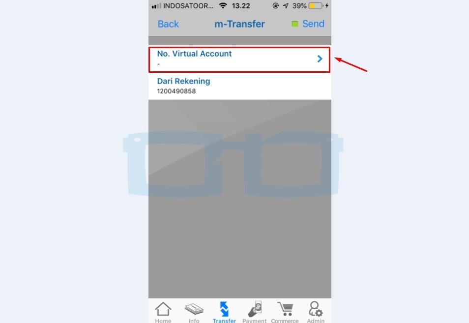 Pilih No Virtual Account untuk Top Up Gopay