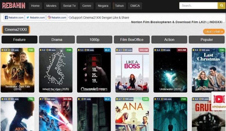 Rebahin Indoxxi Situs Streaming Film
