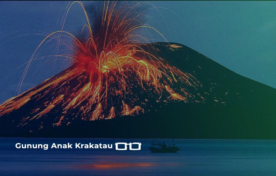 GEMPA Gunung Anak Krakatau Meletus Suara Dentuan Malam 11 April 2020