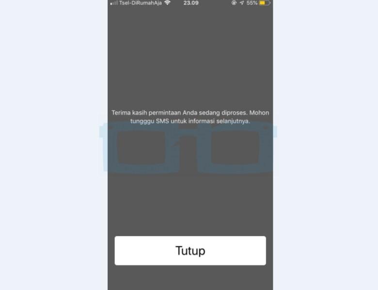 Tungu SMS IMEI dari Telkomsel